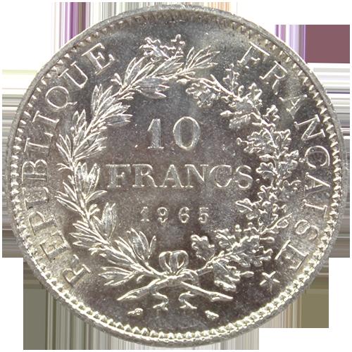 10 francs hercule pi ce argent achat or et - Valeur ancienne piece ...