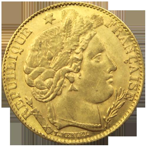 10 francs napol on acheter ou vendre des pi ces d 39 or achat or et argent - Valeur ancienne piece ...