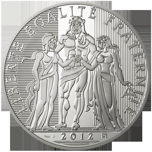 Pi ce 100 euro hercule 2012 achat or et - Valeur ancienne piece ...