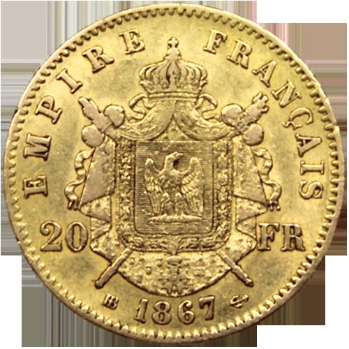 20 francs napol on acheter ou vendre des pi ces d 39 or achat or et argent - Valeur ancienne piece ...