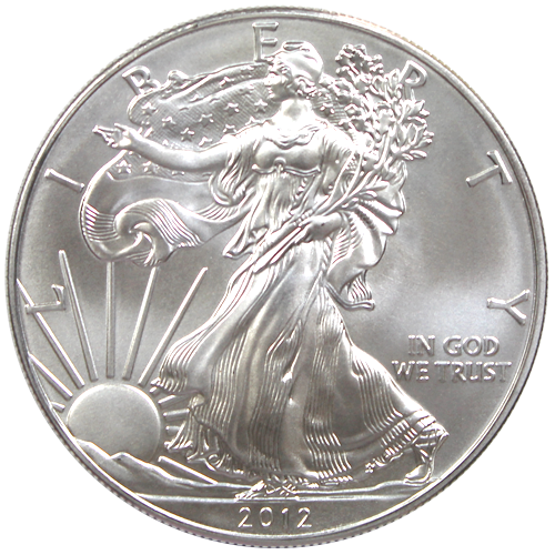 Pi ce silver eagle 1 once argent 2012 achat or et - Nettoyer piece argent ...