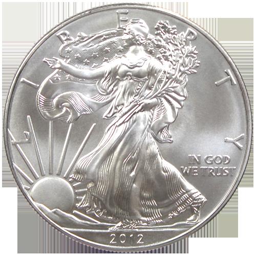 Pi ce silver eagle 1 once argent 2012 achat or et - Valeur ancienne piece ...
