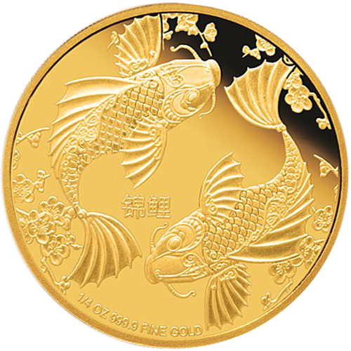 Feng shui carpe koi achat vente once d 39 or for Achat carpe koi occasion