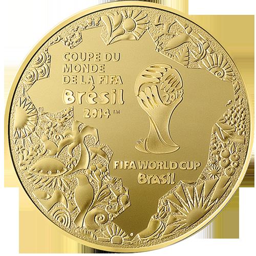 500 euro or fifa 2014 coupe du monde au br sil achat or et - Coupe du monde 2014 au bresil ...