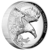 Aigle d'Australie 1oz Argent High Relief 2018
