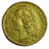LOUIS XV Double louis d'or au bandeau 1766 R